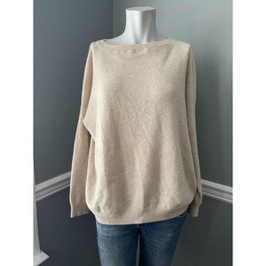 VINCE. Solid Rib Cashmere Sweater - Size XS